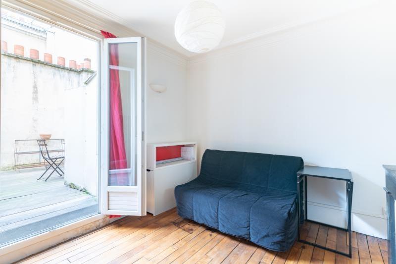 Paris 20 – Studio 1p – Terrasse