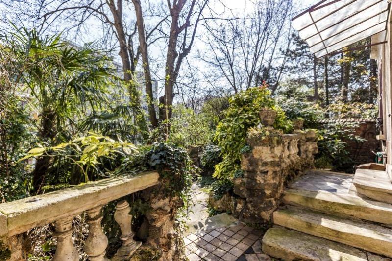 Paris 20 – Parc de Belleville – Maison 7p – Jardins