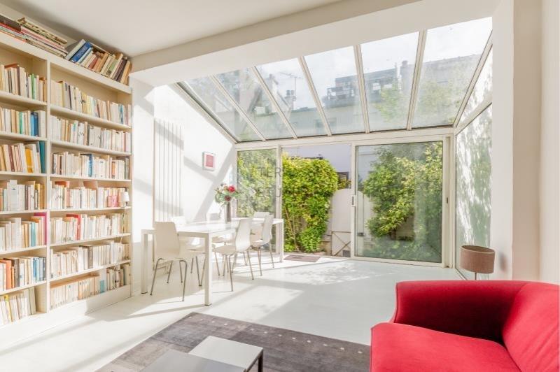 Paris 20 – Alexandre Dumas – Maison 3p – Jardin