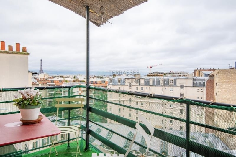 Paris 15 – Convention – Appartement 3p – Balcons – Vue