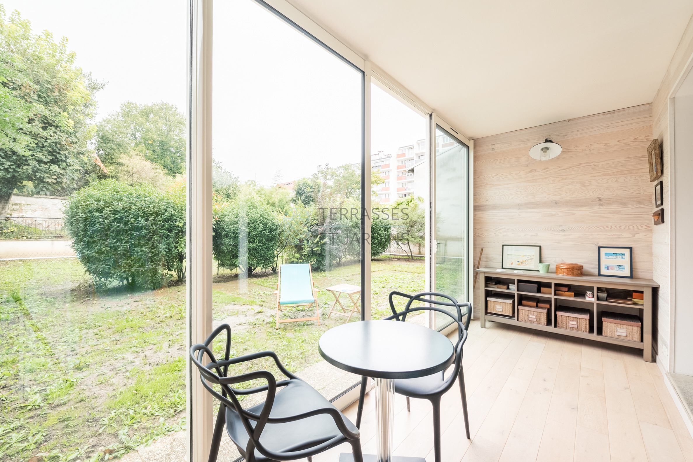 Chatillon – Centre – Appartement 3p – Jardin