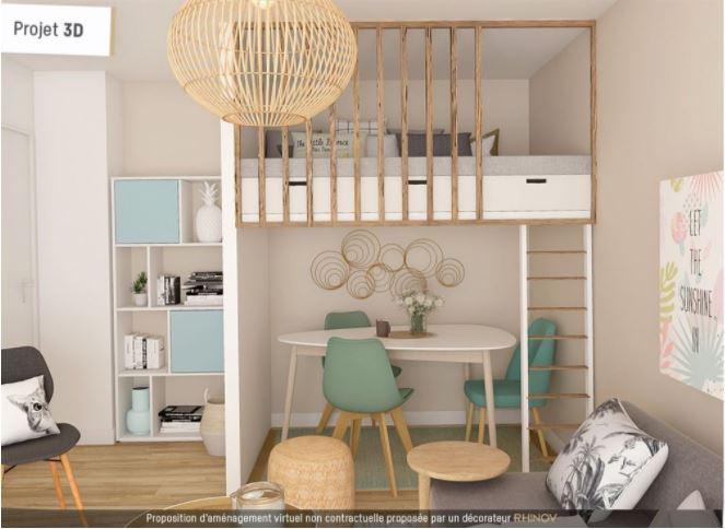 Paris 15 – Pasteur – Studio – Terrasse