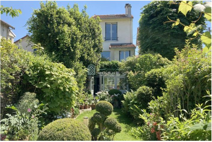 Clamart – Gare – Maison 5/6p – Terrasse – Jardin – Gge