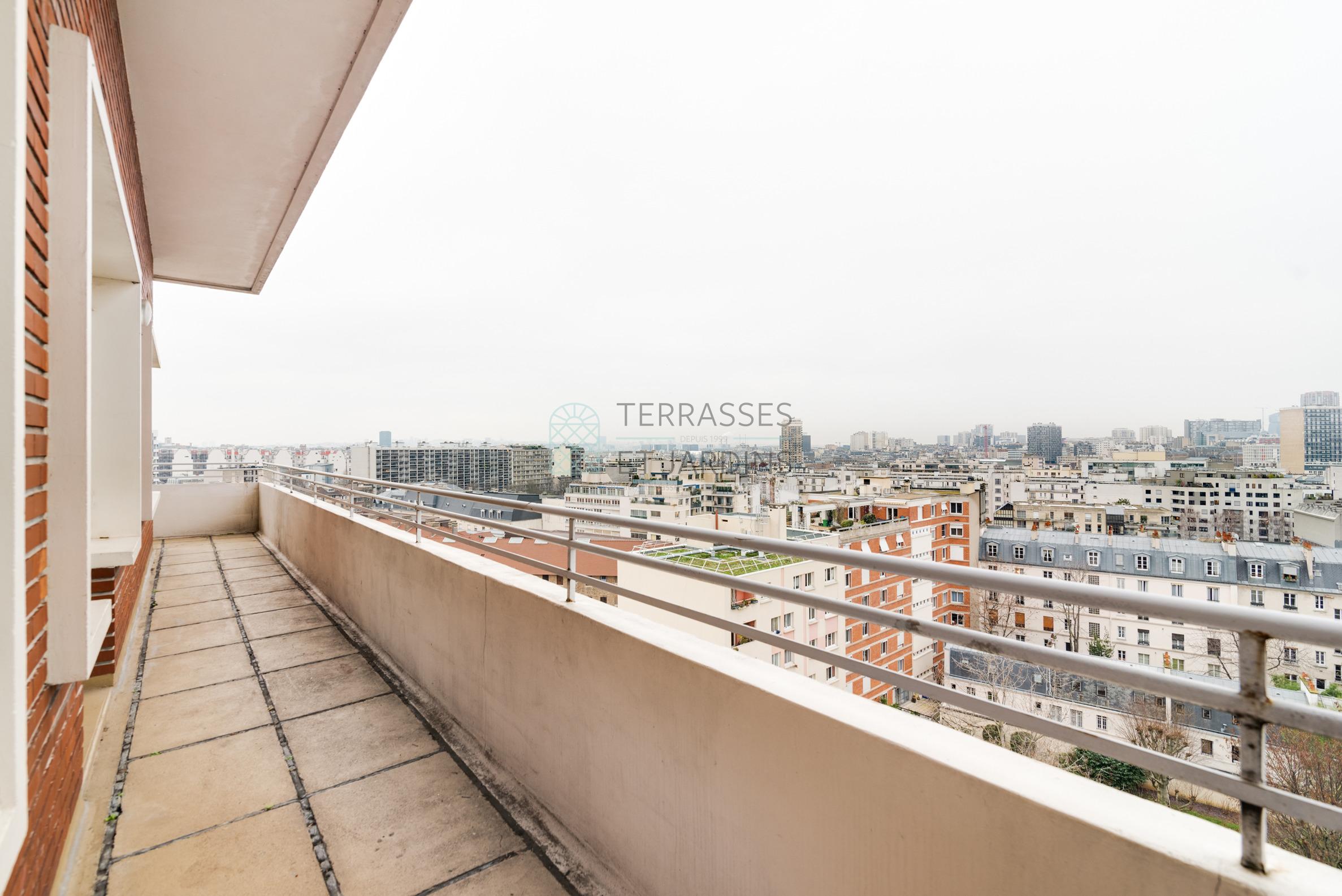 Paris 14 – Saint Jacques – Appartement 5p – Balcon