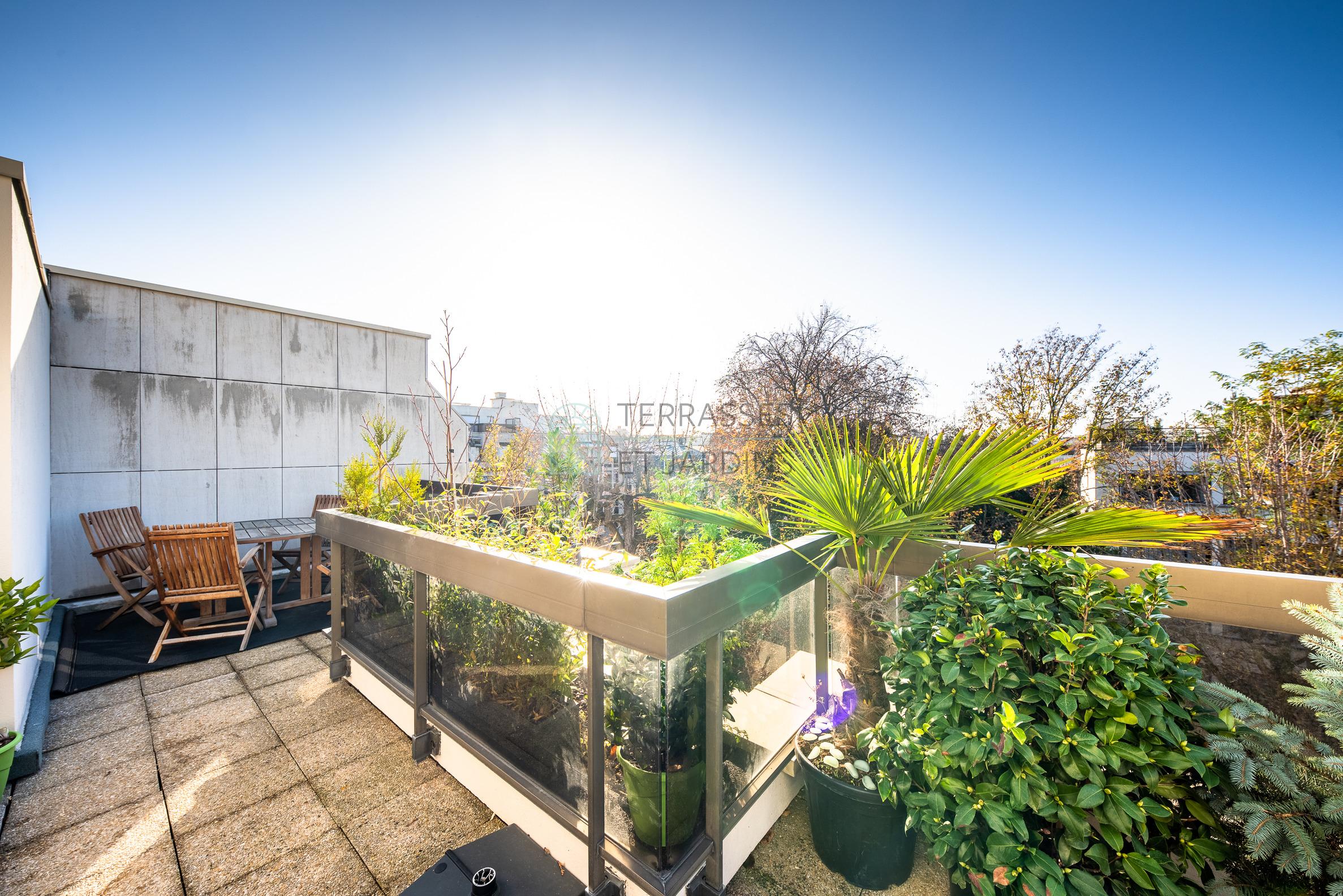 Neuilly sur Seine – Saint James – Duplex 3p – Terrasses – Balcon