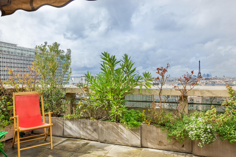Paris 14 – Montparnasse – Triplex 6p – Terrasses – Dernier étage