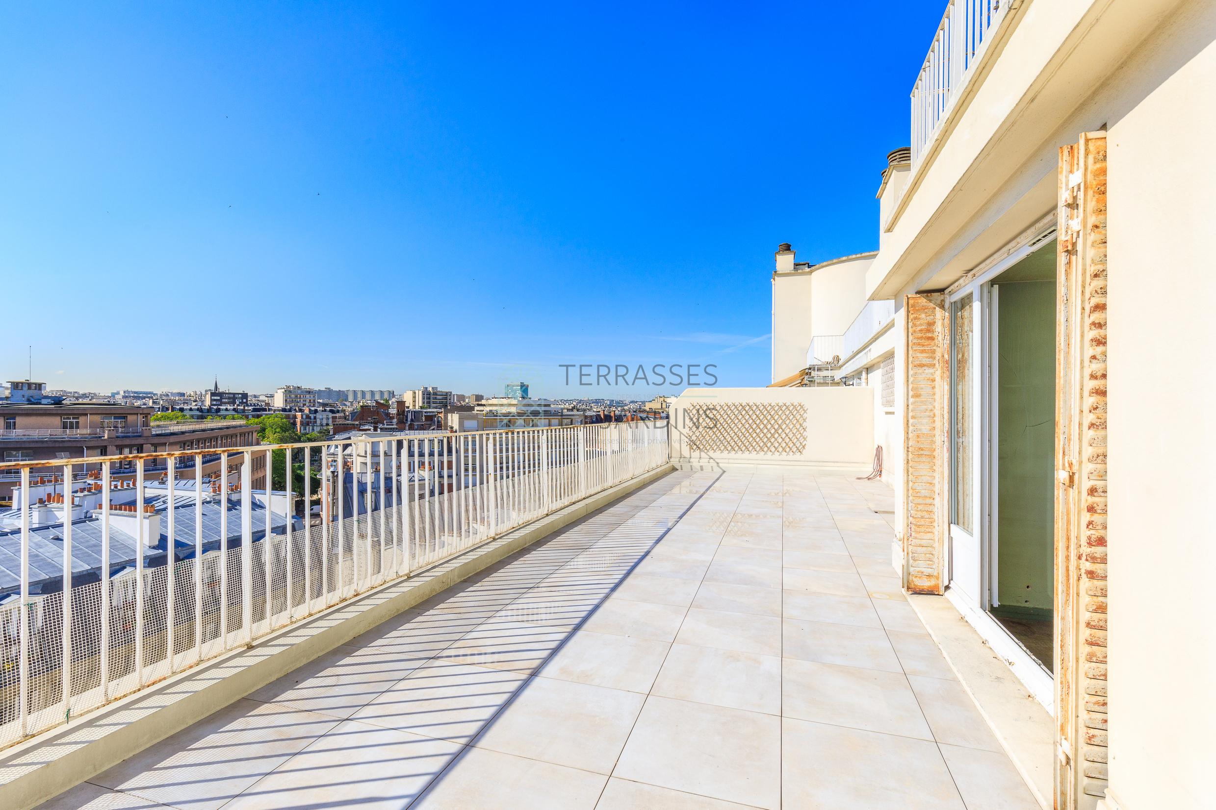 Paris 15 – Commerce – Appartement 4/5p – Terrasse