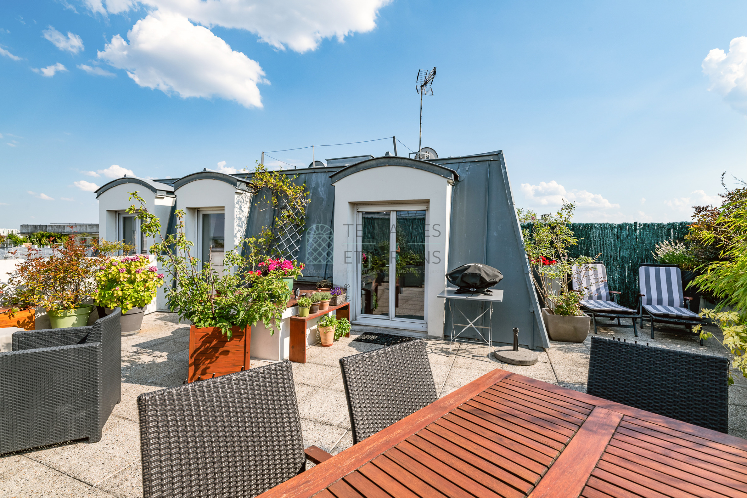 Chatillon – Duplex 3p – Terrasses – Vue