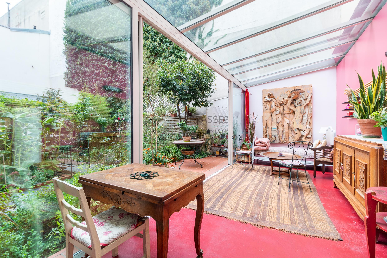 Paris 19 – Buttes Chaumont – Appartement 5p – Terrasse – Jardin