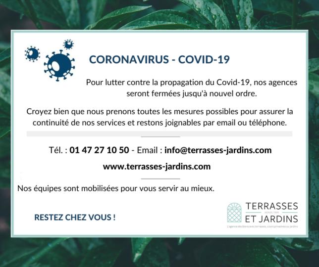 Contact virtuel avec TERRASSES ET JARDINS PARIS