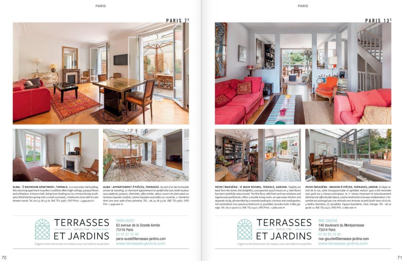 Mars 2021 : Magazine Résidences ImmobilierN°273 - TERRASSES ET JARDINS