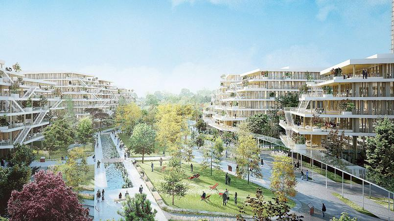 Bientôt des bureaux dans des immeubles en bois, près de La Défense-Terrasses et Jardins