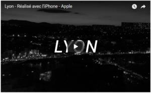Apple met en lumière Lyon dans un clip