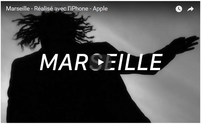 Apple met en lumière Marseille dans un clip