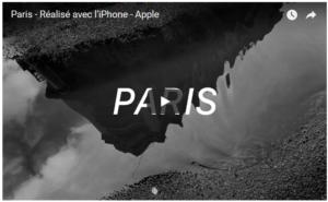 Apple met en lumière Paris dans un clip