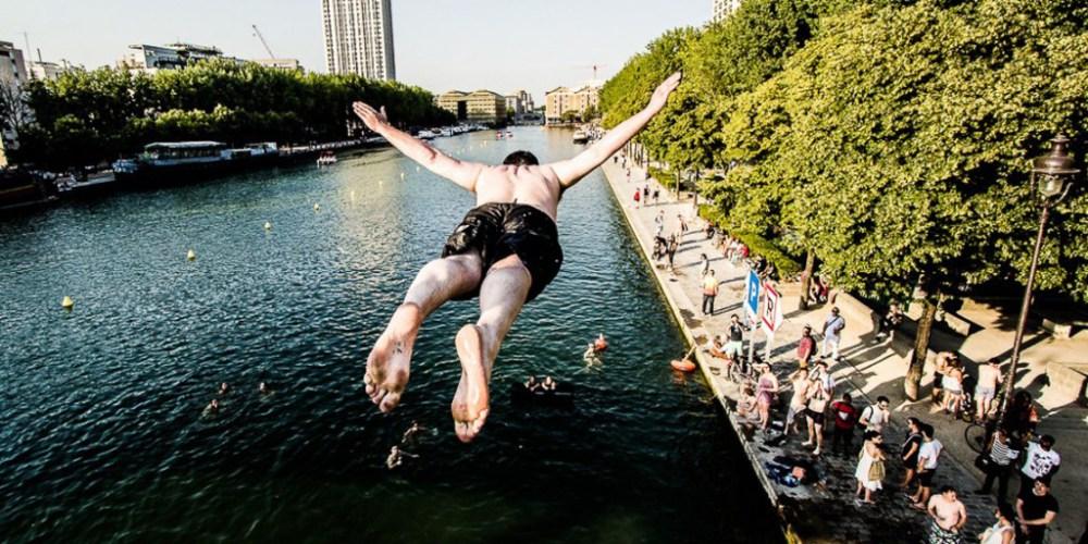 Et la baignade en plein cœur de Paris devint une réalité - Terrasses et Jardins