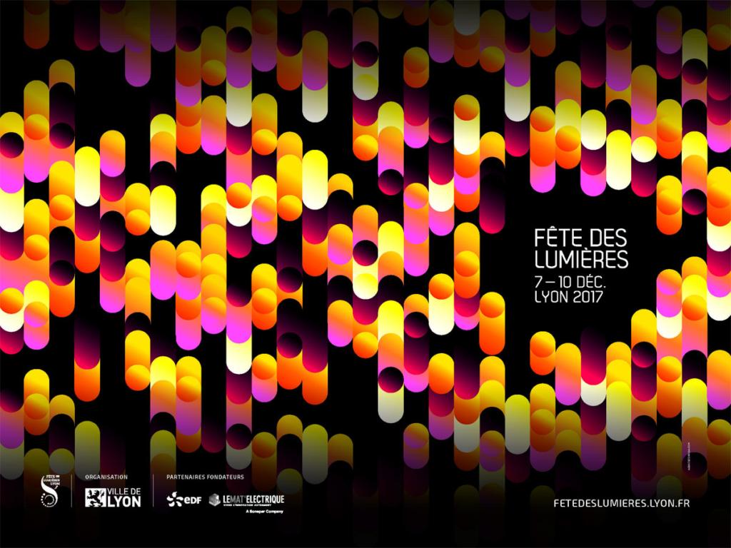 Fête des lumières 2017 Lyon - TERRASSES ET JARDINS