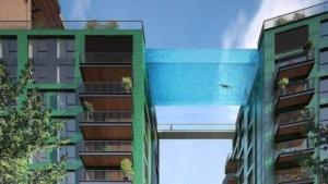 Bientôt à Londres : une piscine suspendue entre deux immeubles