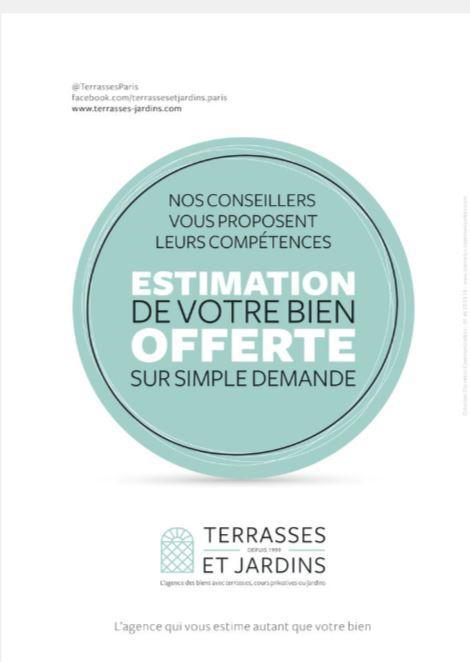 TERRASSES ET JARDINS - Magazine Logicimmo 329 - Pub Estimation