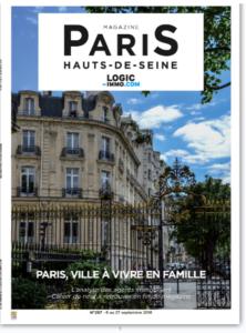 Magazine Logic-immo N°297 – Paris, ville à vivre