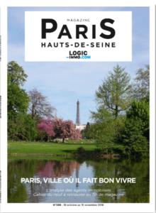 Magazine Logic-immo N°299 Paris Hauts de Seine