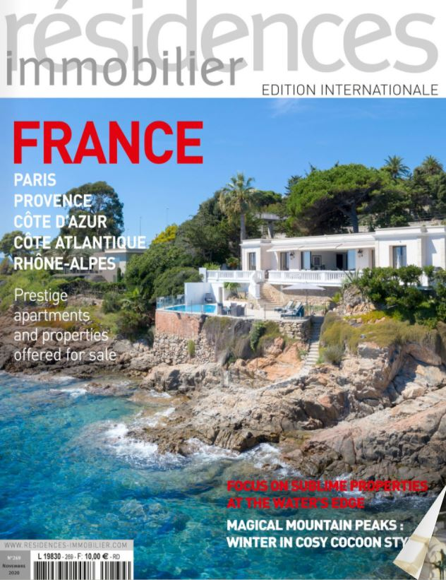 Nov. 2020 – Magazine Résidences Immobilier