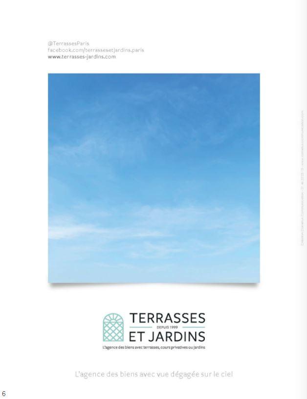 Magazine Résidences Immobilier Nov. 2020 - TERRASSES ET JARDINS