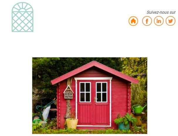 L'installation d'un abri de jardin est-elle imposée ? - TERRASSES ET JARDINS