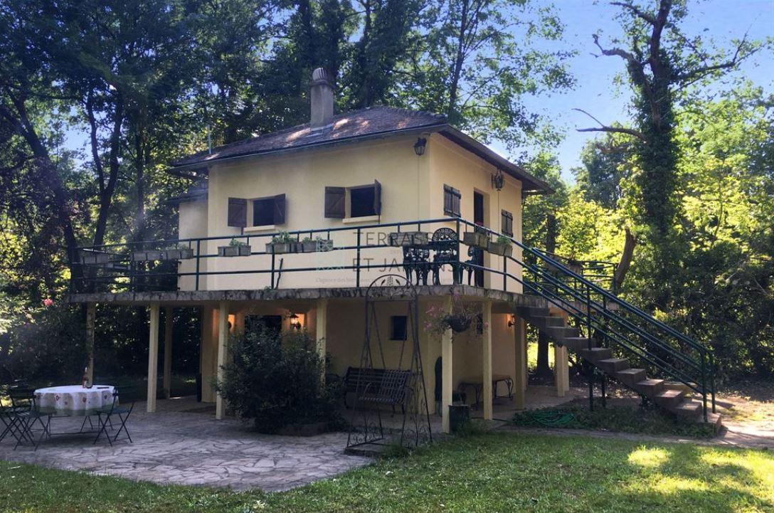 Le Perreux sur Marne – Île du Moulin – Maison sur pilotis 2/3p – Jardin