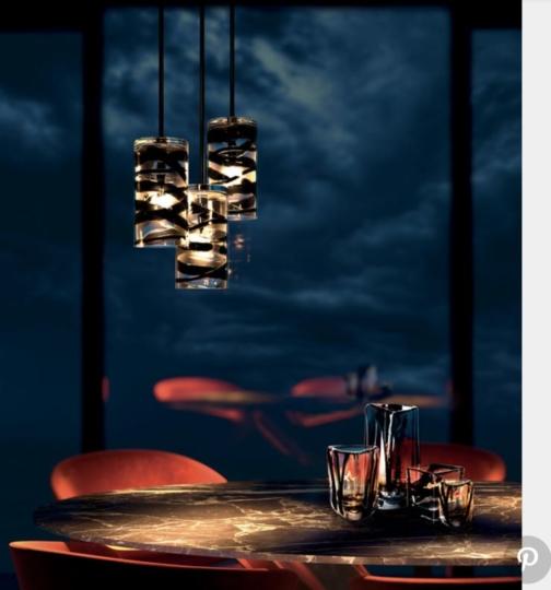 Peter Marino imagine une ligne de luminaires pour Venini - TERRASSES ET JARDINS