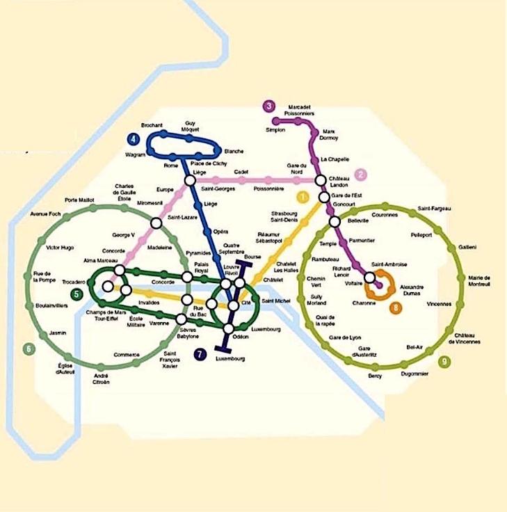 Humour – Grèves – Plan de métro/vélo