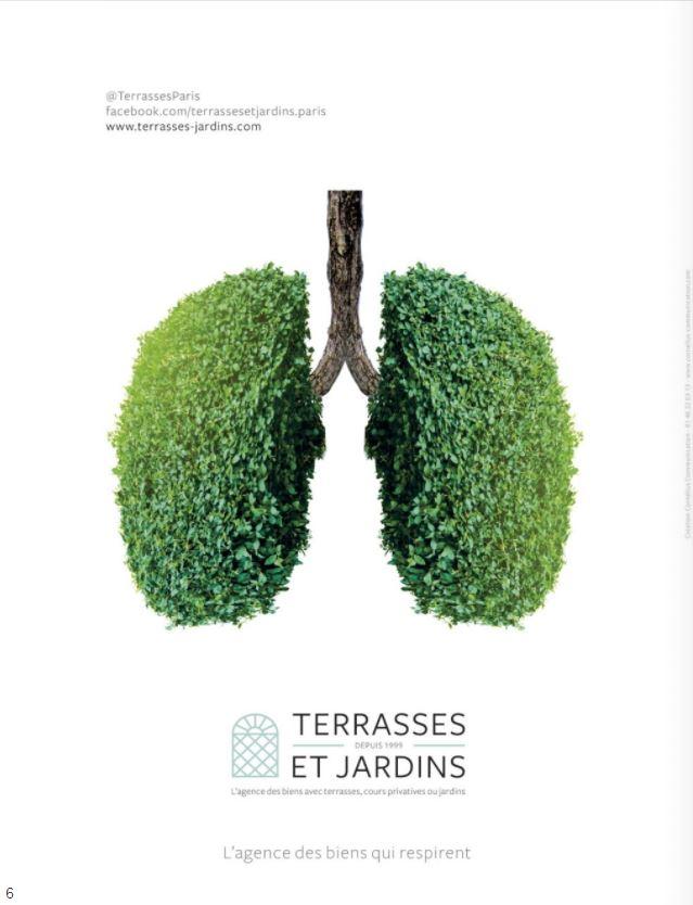 Déc. 2020 - Magazine Résidences Immobilier - TERRASSES ET JARDINS