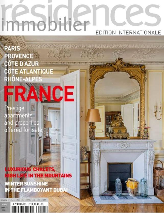 Janv. 2021 – Magazine Résidences Immobilier