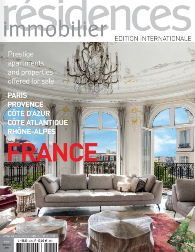 Mai Juin 2021 - Magazine Résidences Immobilier N°276 - TERRASSES ET JARDINS
