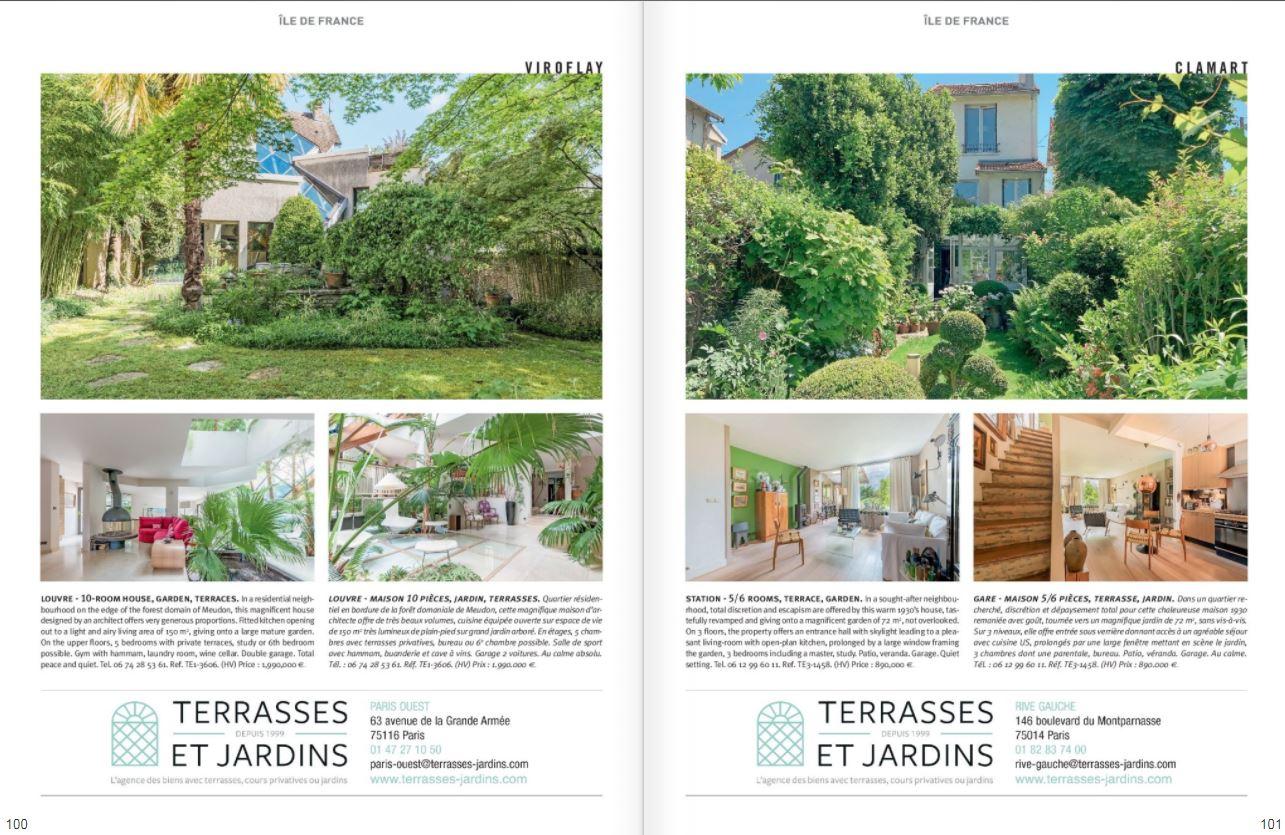 Juillet 2021 - Magazine Résidences Immobilier N°278 - TERRASSES ET JARDINS