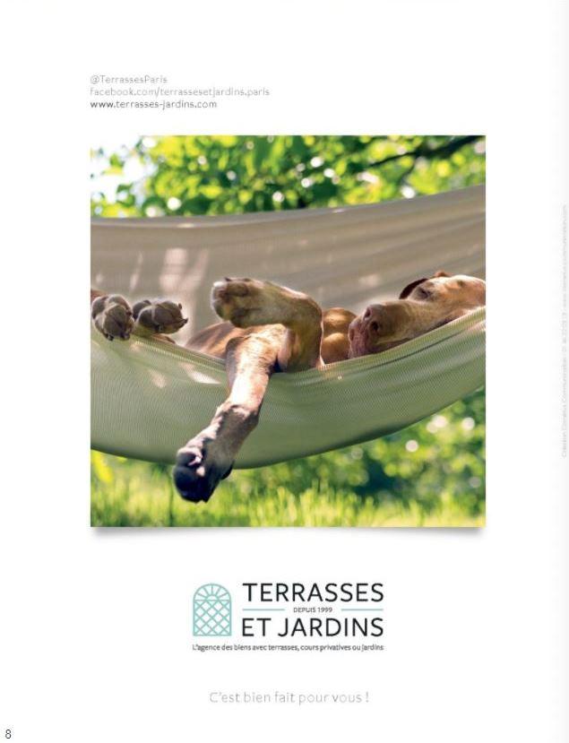 Septembre 2021 - Magazine Résidences Immobilier N°280 - TERRASSES ET JARDINS