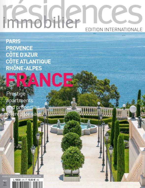 Mai 2021 - Magazine Résidences Immobilier N°275 - TERRASSES ET JARDINS