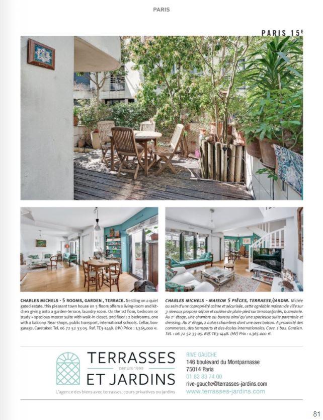 Juin 2021 - Magazine Résidences Immobilier N°277 - TERRASSES ET JARDINS