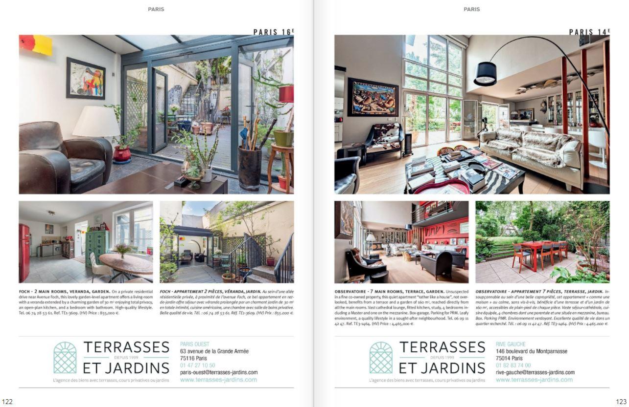 Août 2021 - Magazine Résidences Immobilier N°279 - TERRASSES ET JARDINS