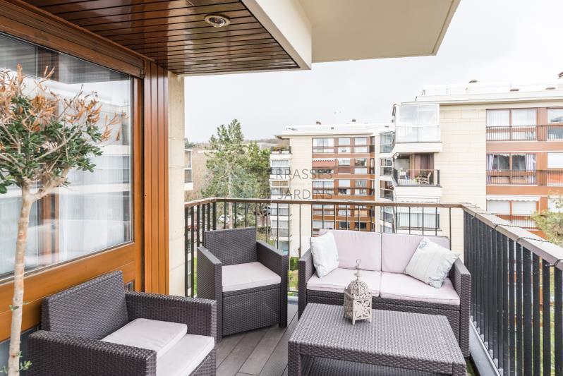 Le Chesnay – Dernier étage – Appartement 3p – Balcon/Terrasse – Box
