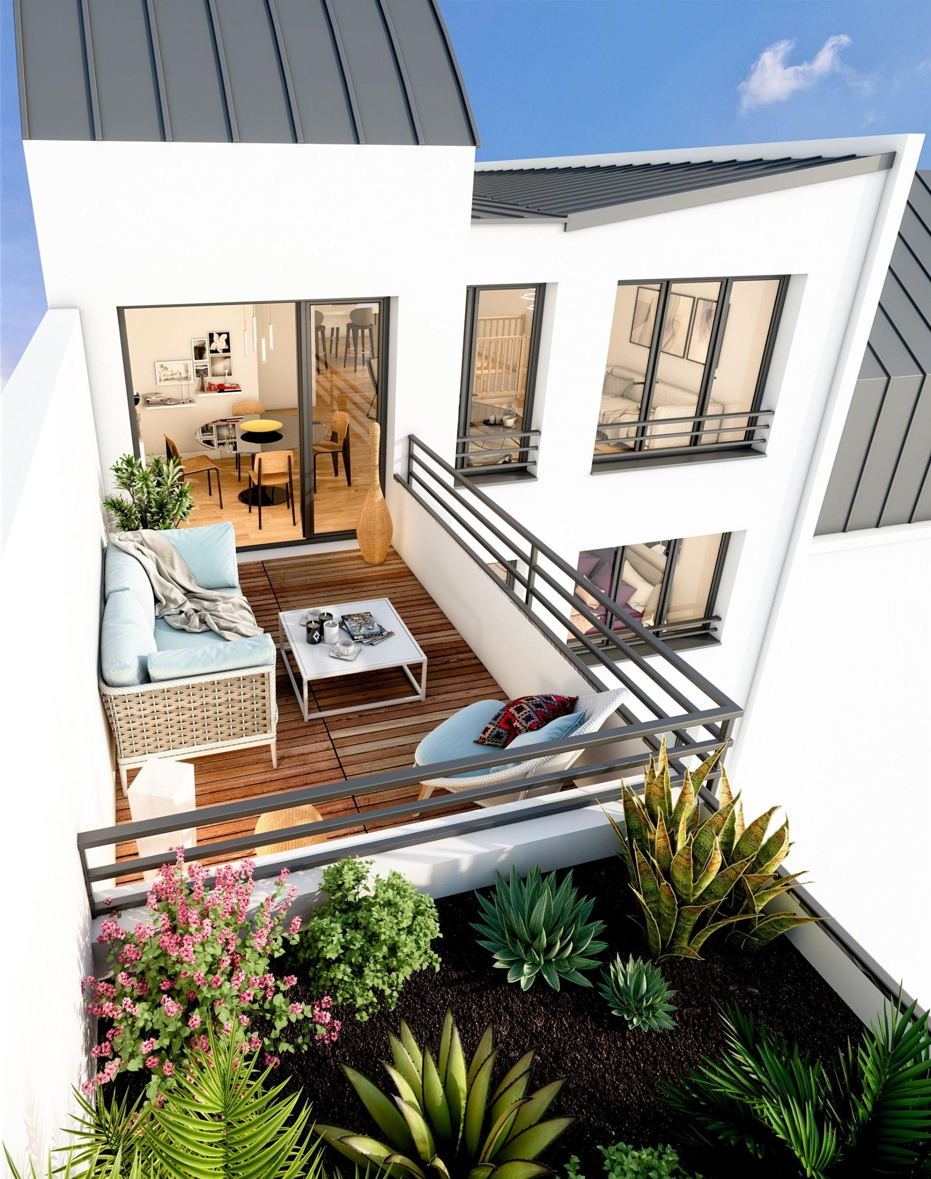 Paris 20 – Proche Charonne – Appartement 3p – Jardin