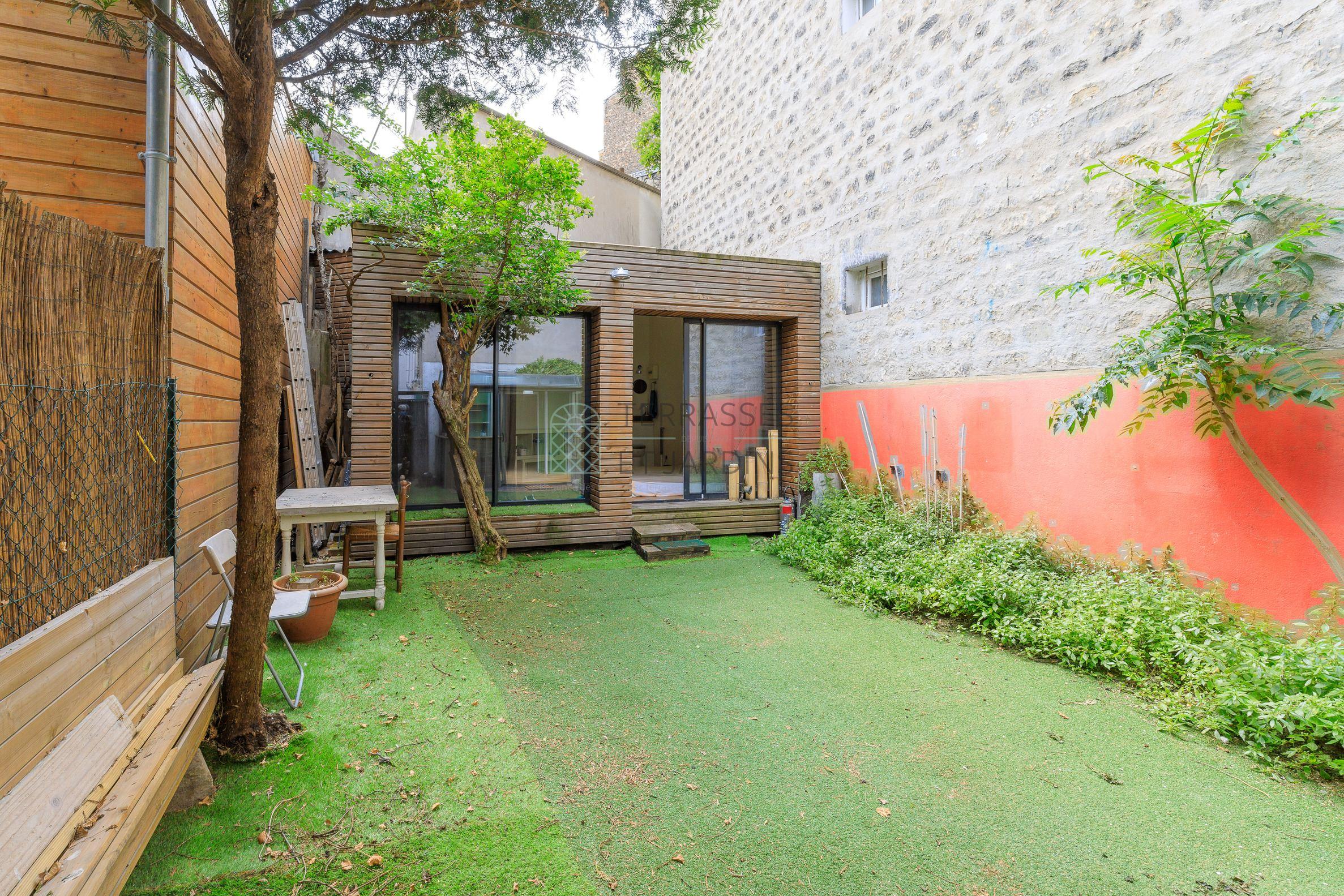 Paris 15 – Motte Picquet – Appartement 3p – Atelier – Jardin
