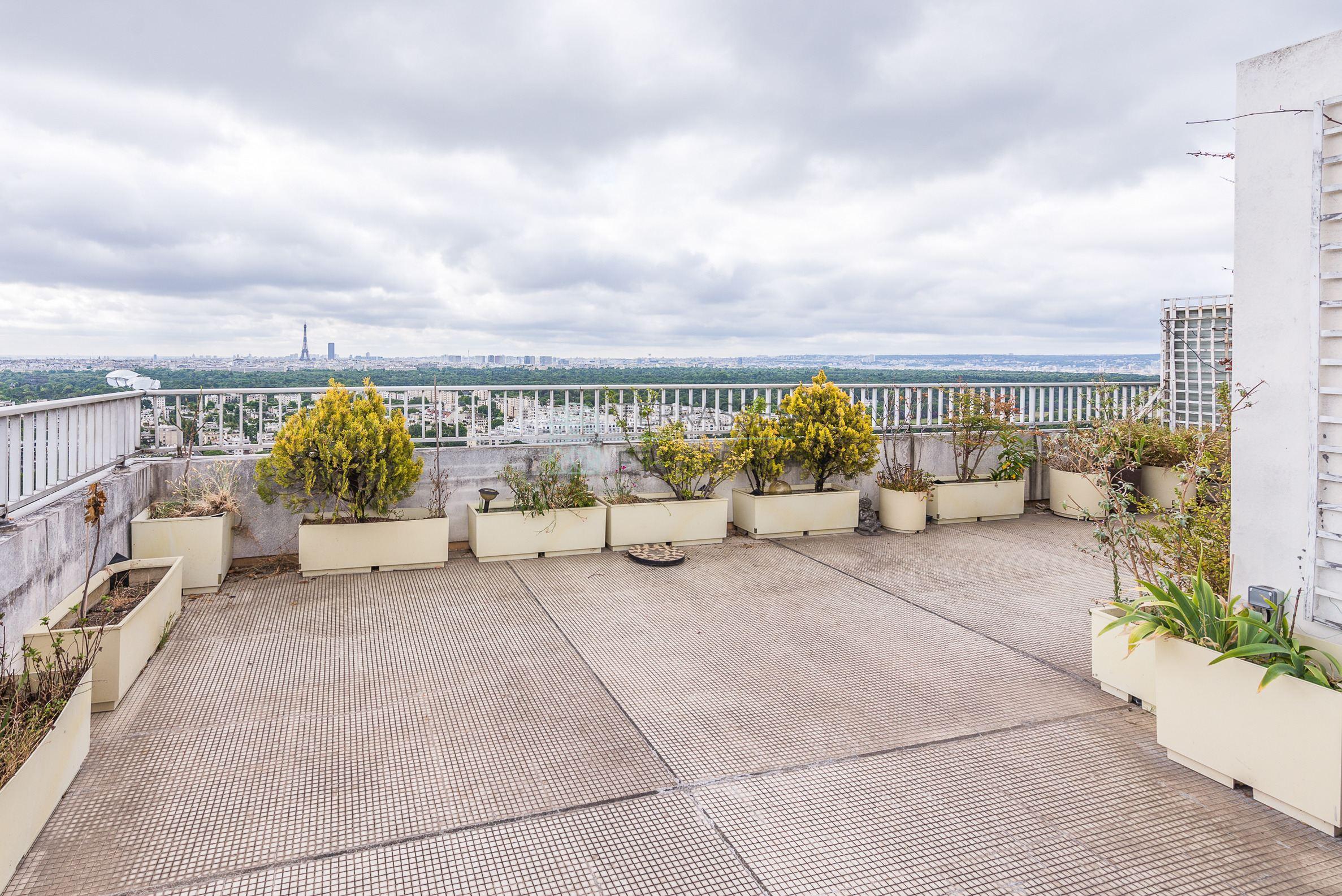 Puteaux – Bellini – Duplex 5p – Terrasse et Balcon