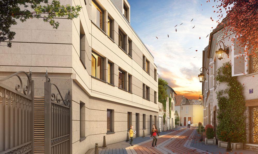 Maisons Laffitte – Château – Appartement 4p – Loggia