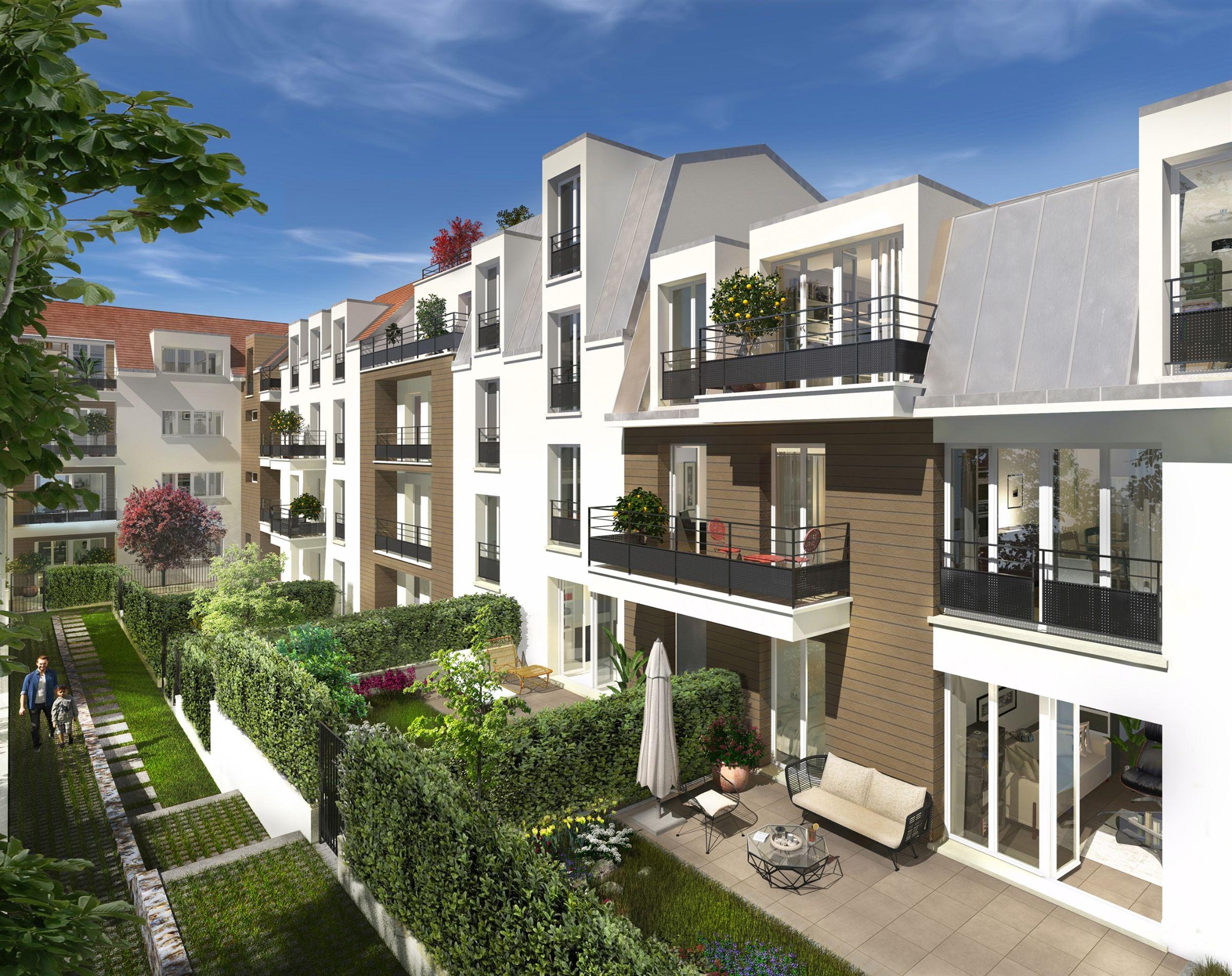 Sartrouville – Appartement 3p – Terrasse – Jardin