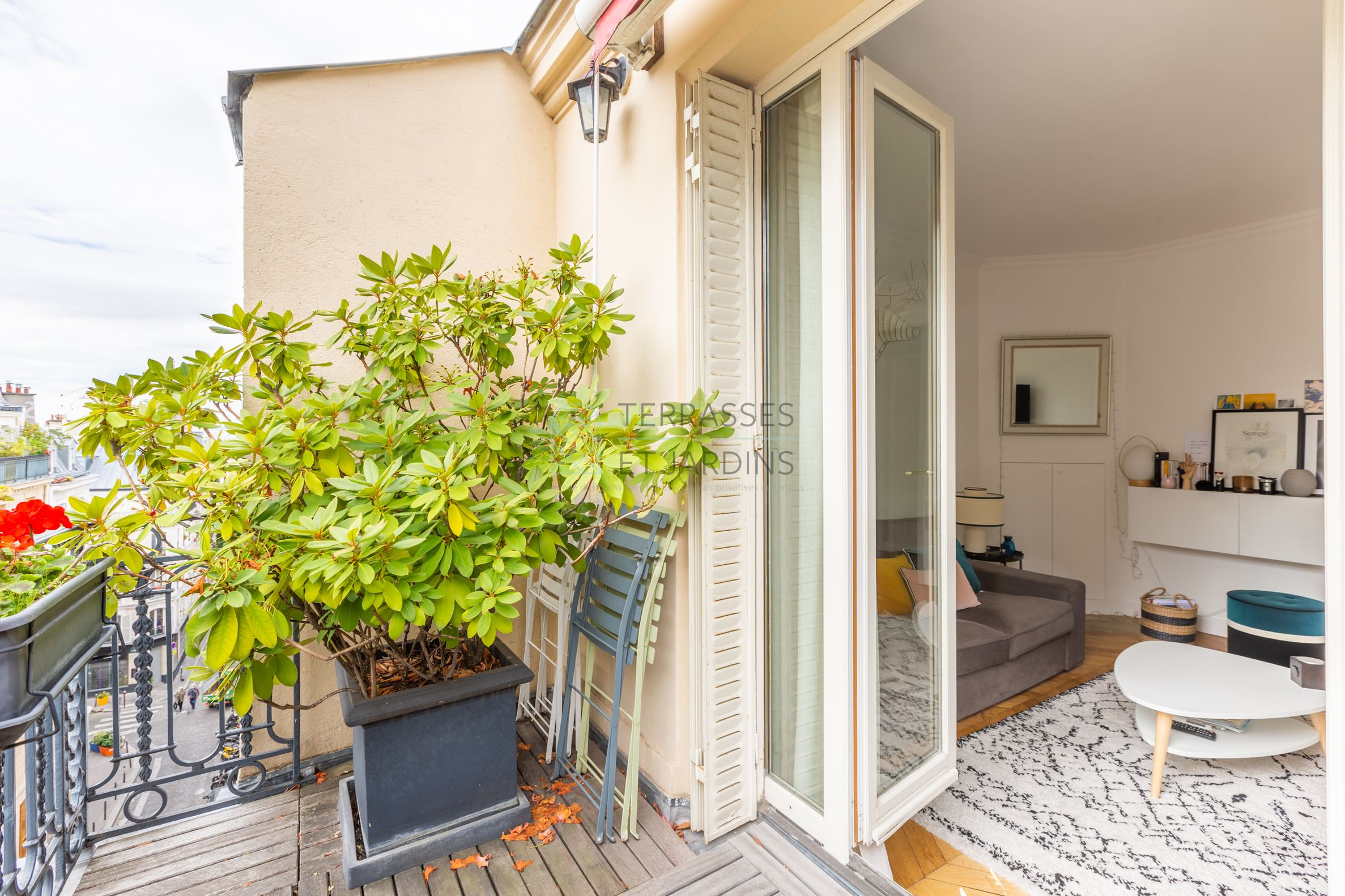 Paris 18 – Lepic – Appartement 2p – Terrasse