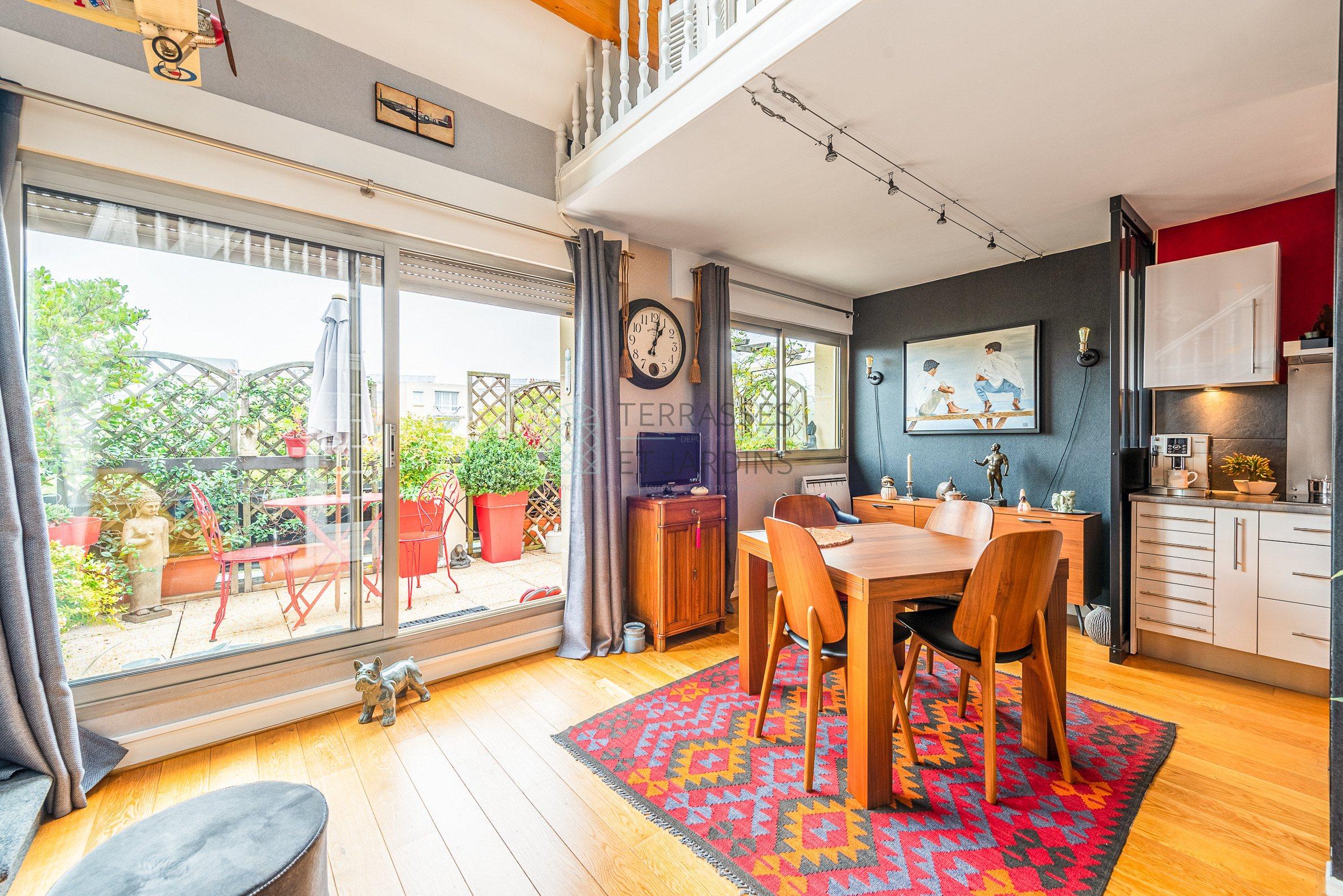Nogent – Centre – Appartement Duplex 4p – Terrasse – Box