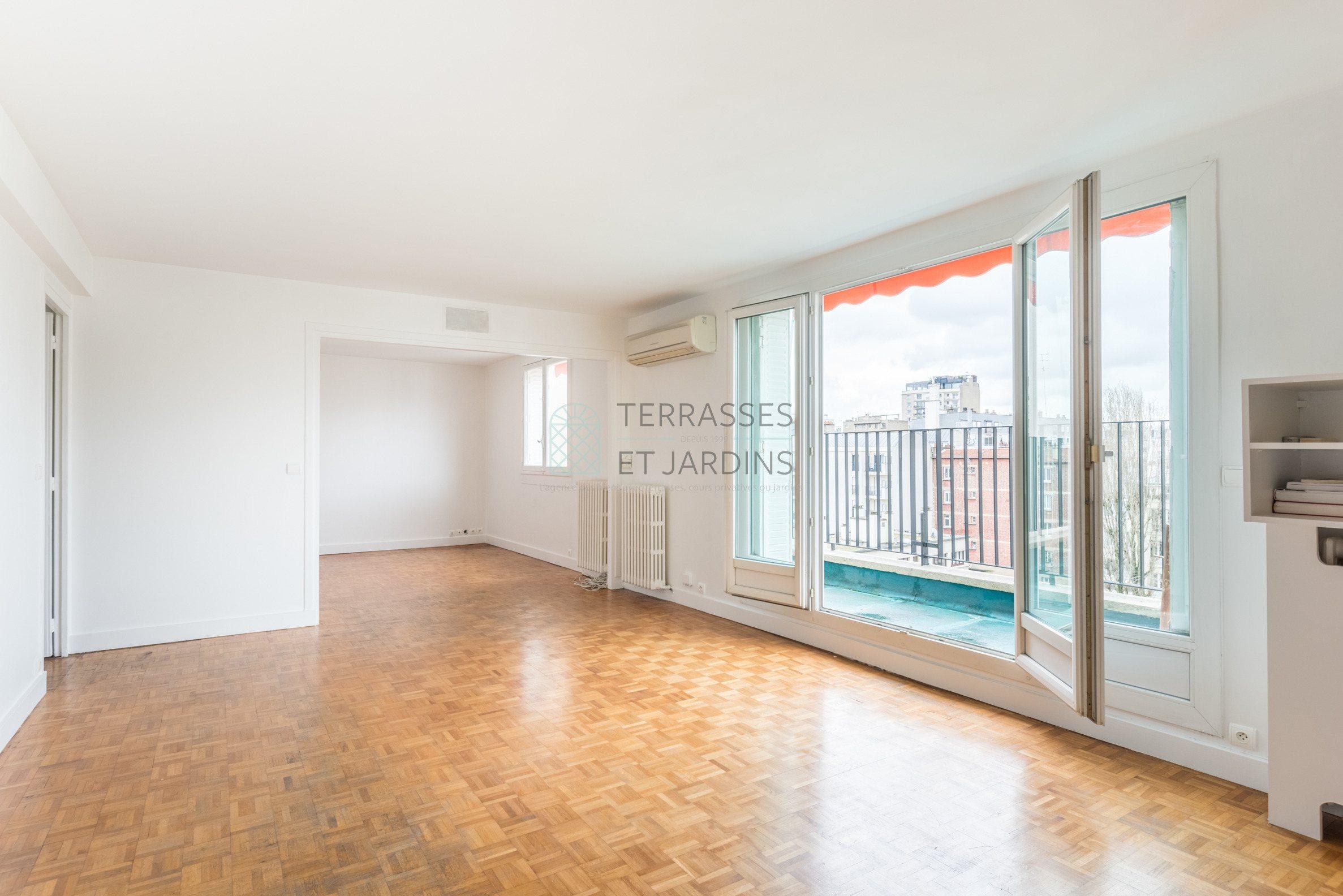 Boulogne – Porte de Saint Cloud – Appartement 4p – Balcon