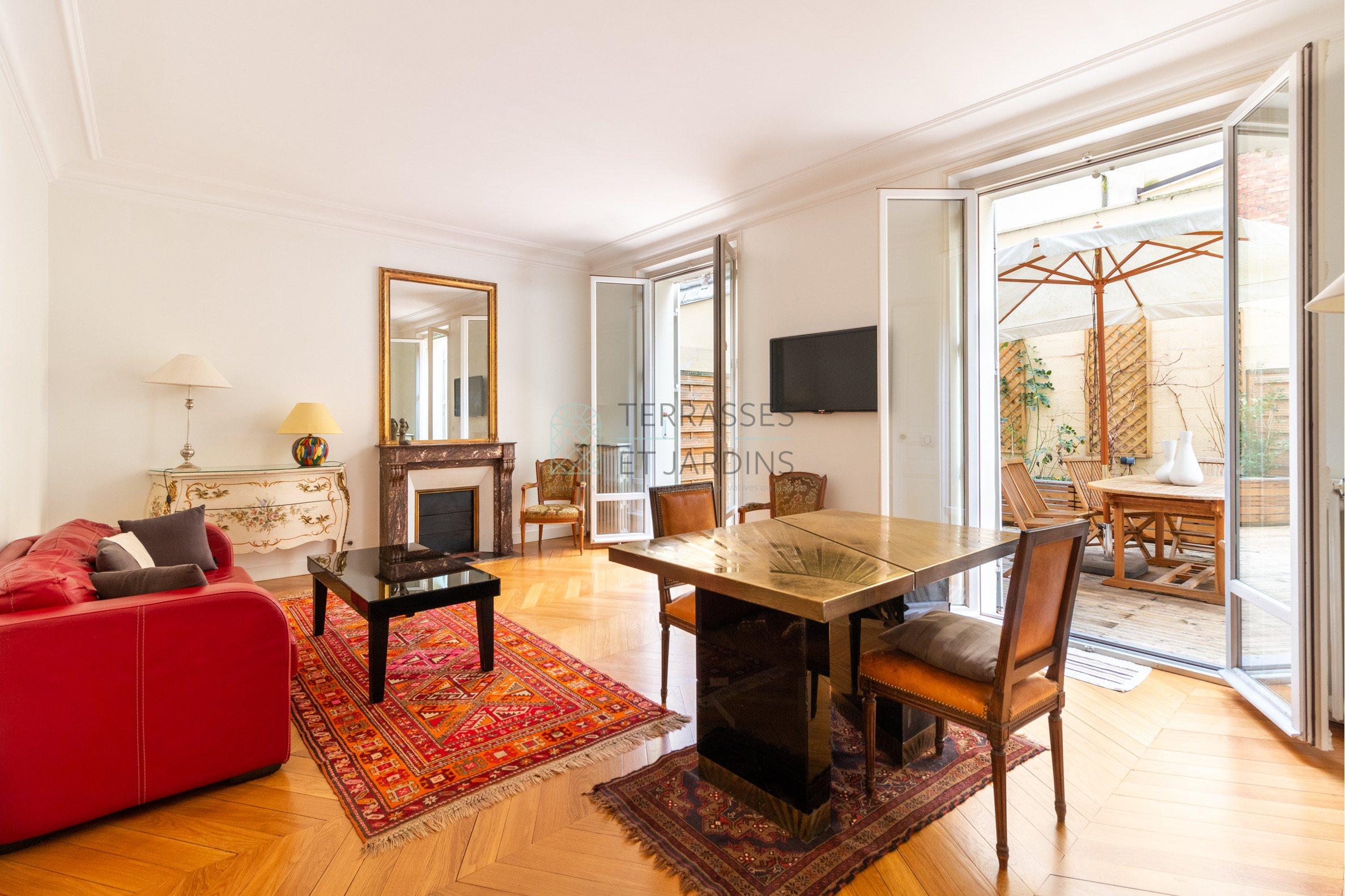 Paris 07 – Alma – Appartement 3p – Terrasse