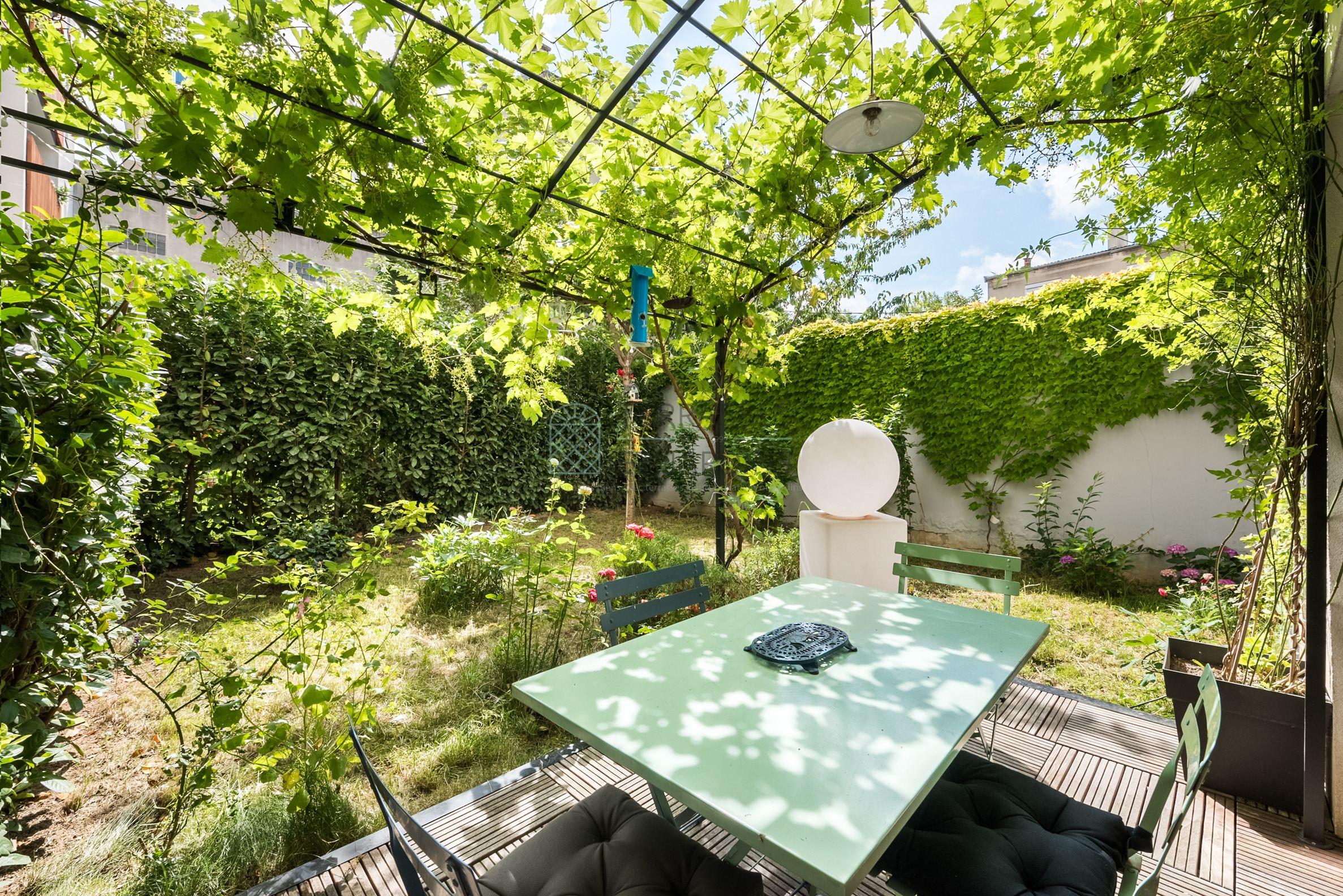 Montreuil – Robespierre – Appartement 4p – Jardin – Pkgs